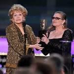 Debbie Reynolds wins the SAG Lifetime Achievement Award