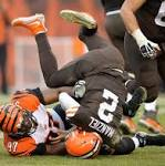 Manziel struggles in Browns' loss to Bengals