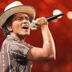 The Social Climber: Bruno Mars Crowned Artist of the Year over Miley and Justin ...