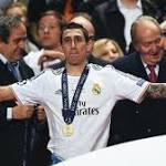 Di Maria won the Champions League with Real Madrid last season