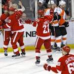 Recap: Red Wings-Flyers scoring summary, stats, video highlights and more
