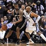Spurs dominate Grizzlies again