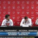 Wisconsin Badgers players stunningly loose before clash with unbeaten ...