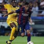 Barca beats APOEL 1-0 in Champions League opener