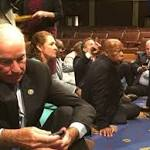 Ryan meeting with House officials on investigation of Democratic sit-in on gun legislation