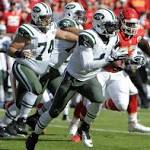 Chiefs surge, Jets slump at Arrowhead Stadium