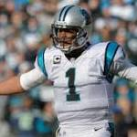 """Cam Newton: Panthers were """"playing with their butts tight"""" in second half"""