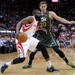 NBA Capsules: Rockets end skid with blowout win over Jazz
