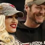 Gwen Stefani & Blake Shelton Look Adorable Together in Photo Booth at Friend's ...