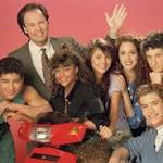 Screech and the cast of Saved by the Bell (Picture: NBCUniversal)