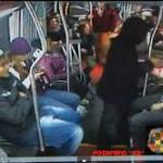 Video: Seattle bus passengers overpower armed robber