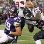 Coach: Vikings-Texans game tonight about evaluating players