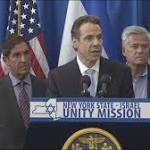 New York Governor Cuomo leads solidarity mission to Jewish state