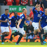 LIVERPOOL 1-1 EVERTON LIVE: Jagielka rifles home stunning half-volley to ...