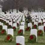Wreaths Across America draws hundreds