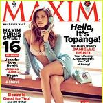 Danielle Fishel Covers 'Maxim' April 2013