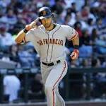 Giants head to LA after taking season-opening series
