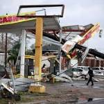 Scenes of devastation after tornado half a mile wide tears through New Orleans ward hit by Hurricane Katrina