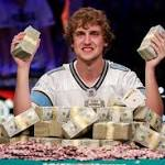 World series poker champ a hustler from the start