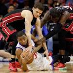 Miami Heat's disappointing season ends on positive note with win vs. 76ers