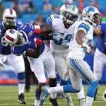 Detroit 23, Buffalo 0: Moore aces final exam