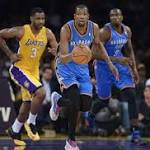 NBA Rumors: Los Angeles Lakers To Sign Kevin Durant in 2016?