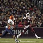 Manziel leads Aggies over Showers-less Miners 57-7