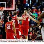 Utah prevails in slug-fest with Georgetown for spot in Sweet 16 at NRG Stadium