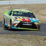 Kyle Busch roars to road-race win at Sonoma