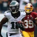 Eagles outlast Redskins to spoil DeSean Jackson's return