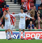 Stoke City 2 Swansea City 1, match report: Victor Moses dived for a penalty ...
