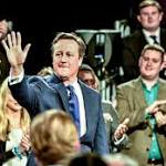 General election is on a knife edge, David Cameron tells party activists