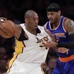 Knicks 90, Lakers 87