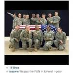 Soldiers Mugging Around Empty Casket Sparks Furor