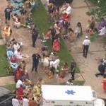 36 taken to hospitals after Texas floor collapses