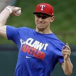 Johnny Football makes his pitch for Rangers