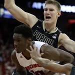 No. 4 Wisconsin holds off Purdue in Big Ten matchup