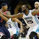 Wizards disappear in fourth quarter in loss against Hornets
