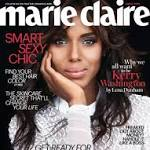 Kerry Washington Compares Fashion To Fine Art In Marie Claire