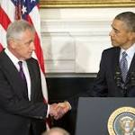 Hagel's exit is no staff shake-up