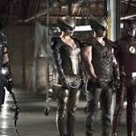 Flash-Arrow bosses and cast preview epic crossover with Legends of Tomorrow