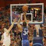 No. 17 Duke loses 91-89 to No. 2 Syracuse