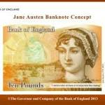 Jane Austen to be the New Face of £10 in 2016 [PHOTO]