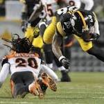 Spartans in the NFL: Le'Veon Bell's playing status cloudy after hyperextended ...