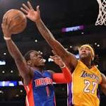 Game Recap: Lakers Snap Five-Game Losing Streak With Win Over Pistons