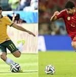 Spain v Australia, World Cup 2014: live