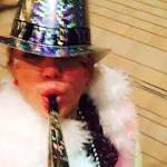 Miley Cyrus, Arnold Schwarzenegger Party On New Years Eve