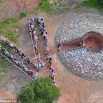 Thousands flock to Scottish cairn to make the emotional case against ...