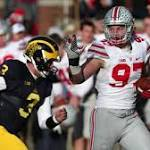 Browns among Joey Bosa's 13 formal NFL Combine interviews; disappointed with his 40 time after 'a rough, long day'