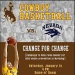 Nevada (6-13) at Wyoming (17-4)